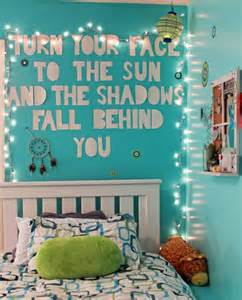 Room teenage room wall quote bedroom quote quote lights diy