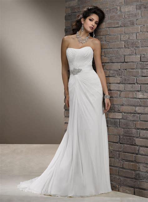 Dress Fashion Simpel Elegan simple wedding dresses naf dresses