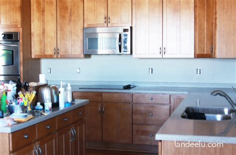 how to apply backsplash in kitchen easy vinyl backsplash for the kitchen landeelu com