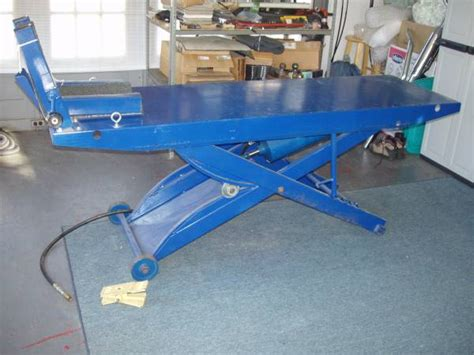 motorcycle lift table for sale motorcycle 1000 pound lift table for sale in salem