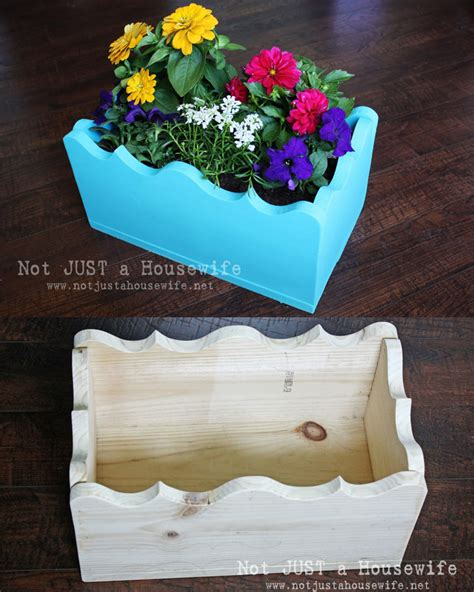 Build Your Own Planter Box Not Just A Housewife Build Your Own Planter Box