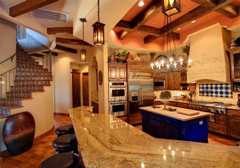 Blue Backsplash Kitchen 44 top talavera tile design ideas