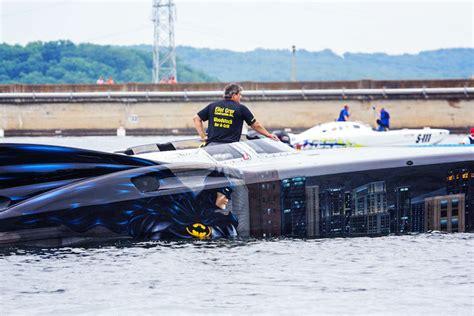 boat mechanic lake of the ozarks holy batman boat gotham s hero suiting up for lake race