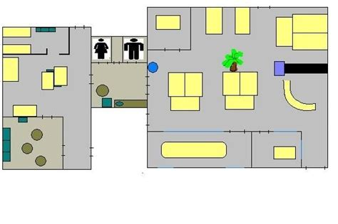 dunder mifflin floor plan i got bored so i decided to make a foor plan of dunder