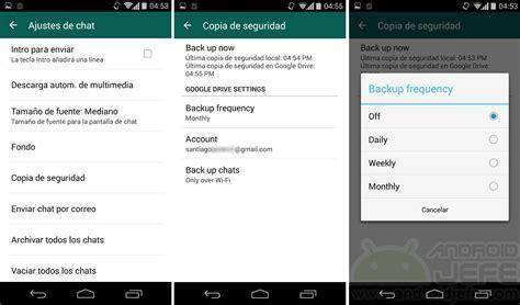 imagenes guardadas en google guardar conversaciones whatsapp en drive android jefe