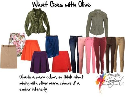 what colors go with olive green what to team with olive
