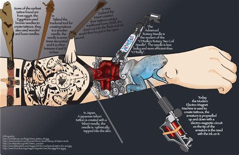 history of tattooing history infograph by celtic balverine on deviantart
