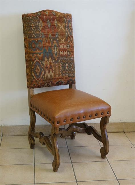 southwestern sunset dining chair western dining chairs