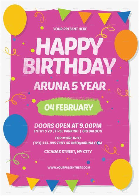 happy birthday invitation card design invitation happy birthday gallery invitation sle and