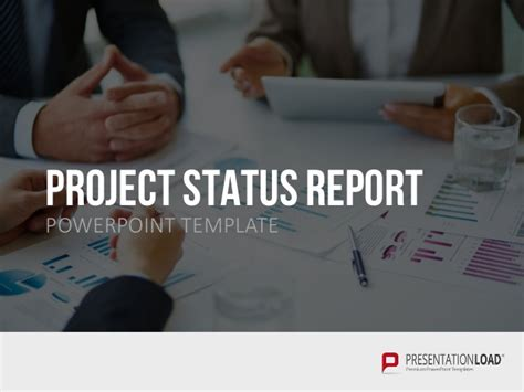 Project Status Report Ppt Slide Template Project Status Report Ppt