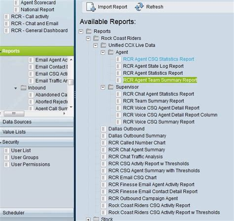 Cuic Report Templates Solved Create New Cuic Reports Cisco Support Community