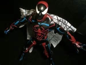 custom marvel legends: spider man unlimited youtube