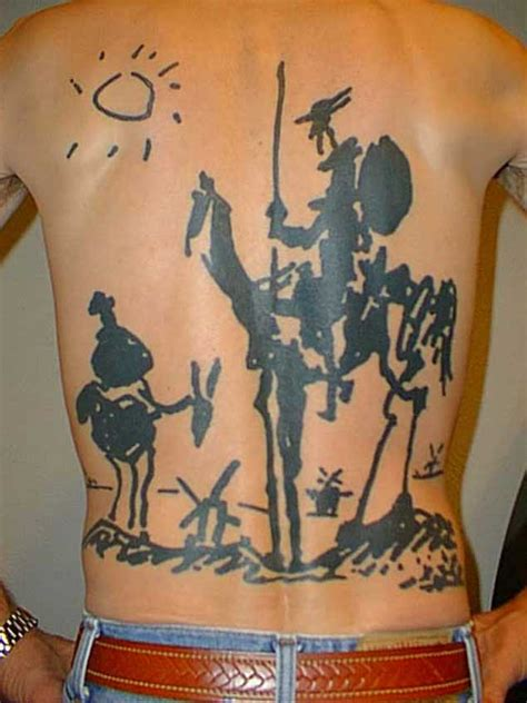 la mancha tattoo 15 don quixote tattoos tattooblend