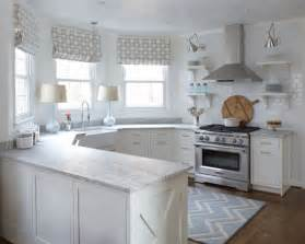 small white kitchen design the peak of tr 232 s chic kitchen trend no upper cabinets