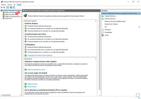 tutorial en linea de windows 10 bloquear acceso de programa a internet firewall windows 10
