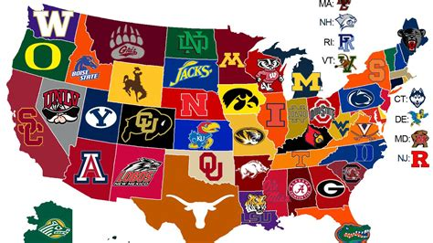 college map 25 maps that explain college football sbnation