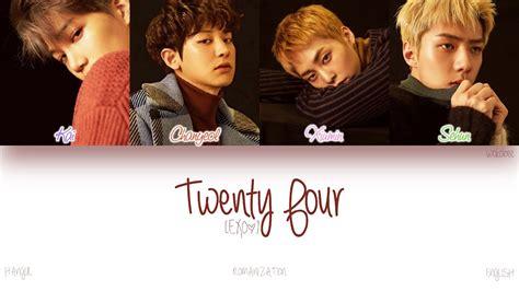 download mp3 exo twenty four han rom eng exo twenty four color coded lyrics youtube