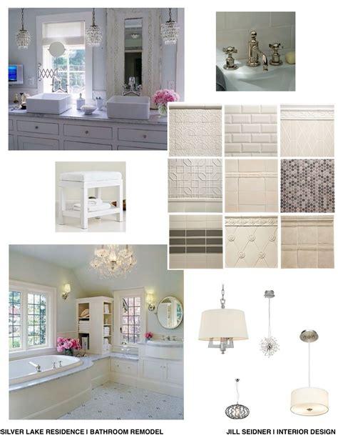 interior design bathroom concept board concept board for a bathroom remodel seidner