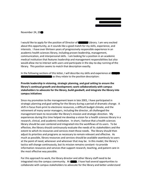 scientific article cover letter sample cover letter