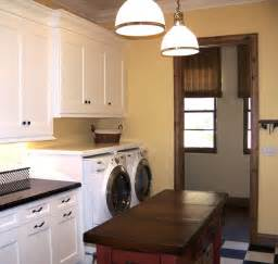 laundry in kitchen ideas black red amp plum laundry room color with red island