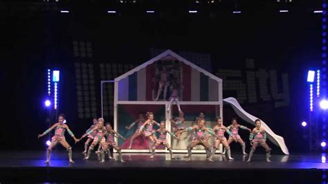 doll house club highest scoring junior routine quot big dollhouse quot club dance