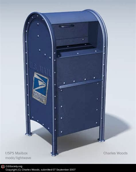 Post Office Drop Box by Us Postal Mail Drop Box By Charles Woods 3d Cgsociety