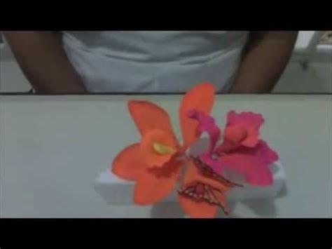 como hacer flores de azucar como hacer orquideas de az 250 car youtube