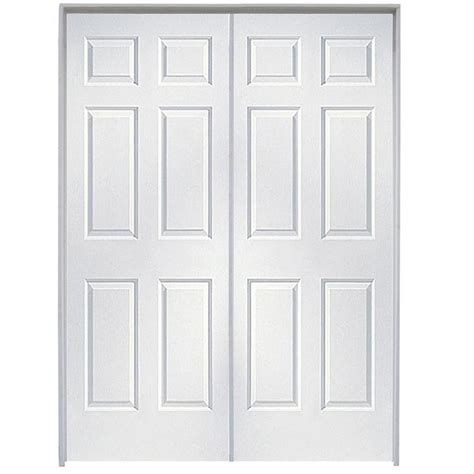 Six Panel Doors Interior Shop Reliabilt Primed Hollow Molded Composite