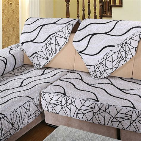 black and white sofa covers 1pcs sofa cover black and white striped cover for sofa