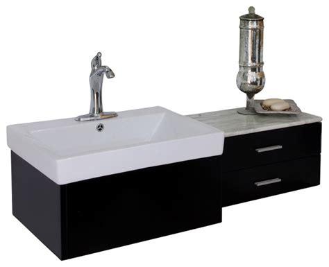45 single sink bathroom vanity bellaterra 45 8 quot single sink vanity wood black