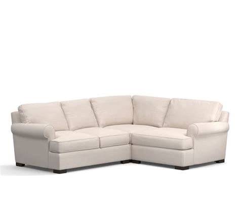 townsend sectional townsend upholstered 3 piece sectional with corner