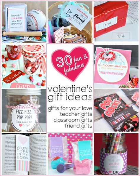 valentines gifts for a 30 s day gift ideas for everyone you