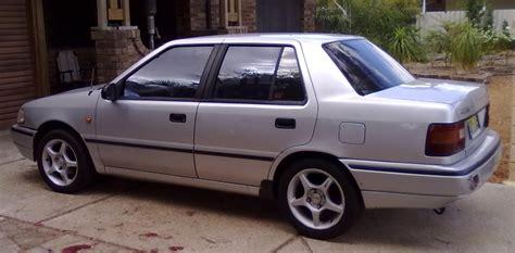 hyundai 1993 excel shaiidz s 1993 hyundai excel gl sedan 4d in perth