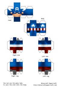 Minecraft Skin Papercraft - minecraft skin paper crafts