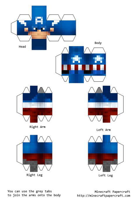 Papercraft Minecraft Skin Generator - minecraft skin paper crafts