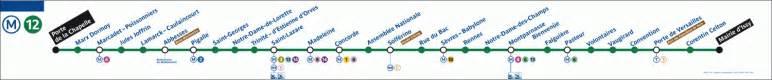 g 233 ographie des stations de la ligne 12