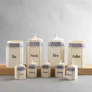 vintage kitchen canister sets vintage ceramic kitchen canister set