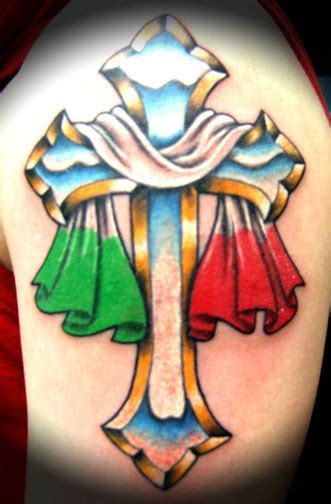 italian cross tattoos italian cross italian designs design flash