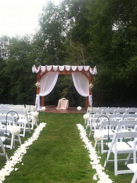 show me your wedding pergolas please weddingbee
