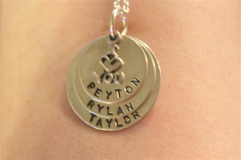 mens personalized jewelry initial necklace monogram by