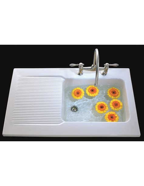 sit on kitchen sink ev6738 villeroy boch provence ceramic sinks sit on
