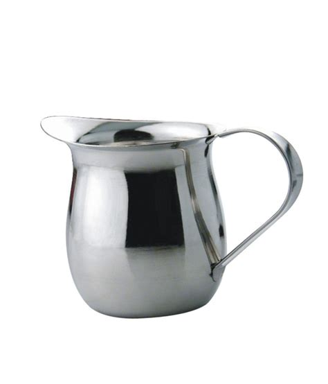 Creamer Jug Stainless Steel 90 Ml 3 Oz glass pitcher with lid india buy copper water jug pitcher 21 ltr with 1 hammer glass
