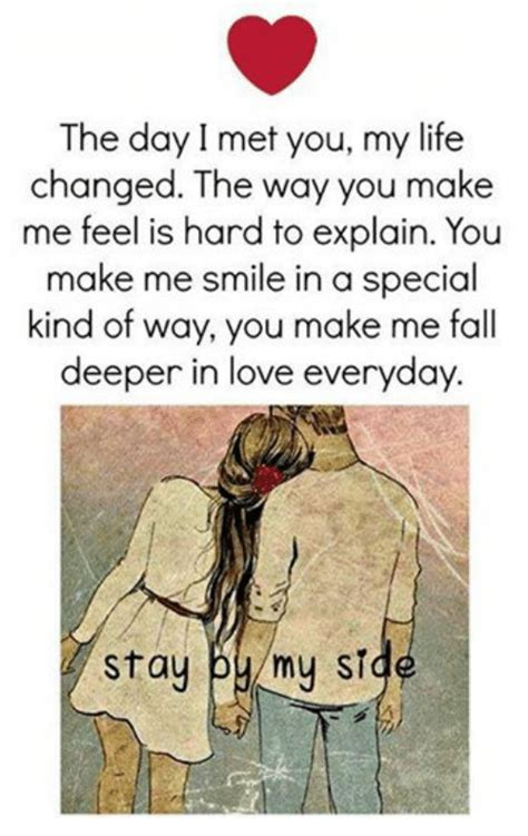 Love Of My Life Meme - the day i met you my life changed the way you make me feel