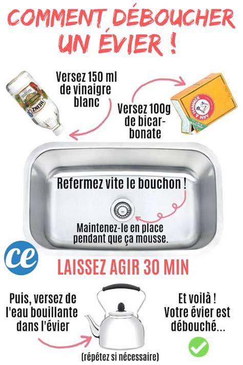 Comment Déboucher Une Baignoire Vinaigre Blanc by Comment D 233 Boucher Un 201 Vier Avec Du Bicarbonate Et Du