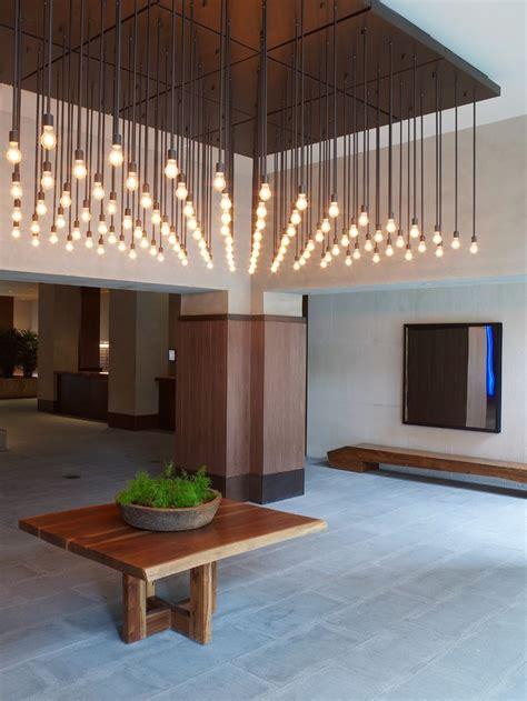 cool light fixtures sergio mercado design west side lobby design