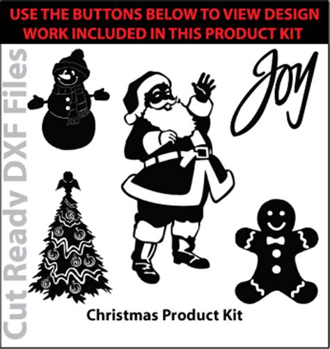 christmas dxf free freedxf