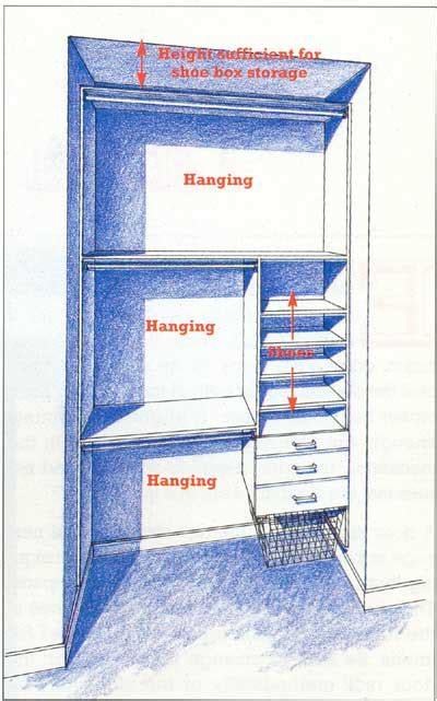 small closet redesign idea extend and use entire floor to