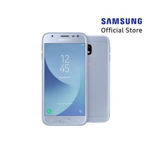 jual smartphone samsung galaxy j3 pro blue silver