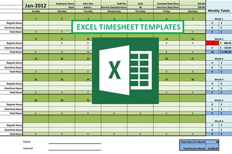 How Excel Timesheet Simplifies Employee Hour Tracking Tasks Timesheet Template Excel Free