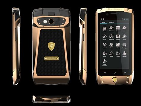 Lamborghini Luxury Phone Lamborghini Luxury Phone With Android 4 2 Luxuryvolt